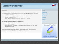 Ikona webu Action Monitor